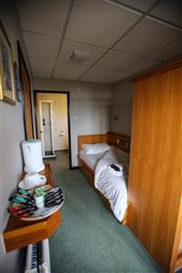 Loughrigg single room, Brathay Hall