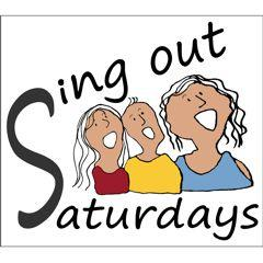 Sing Out Saturdays logo